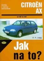 Kniha CITROËN AX /50 - 100 PS a diesel/ 1987 - 1997