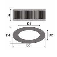 Sportovní filtr Green CITROEN SAXO 1,5L D výkon 40kW (54hp) typ motoru TUD5 rok výroby 00-