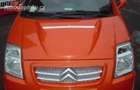 LESTER kompletní přední kapota (montáž na originál kapotu) Citroen C2