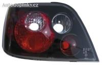 Zadní světla (lampy) černé Citroen Xsara -- rok výroby 97-00